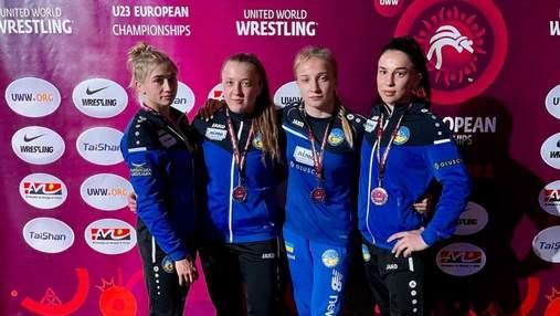 Слезы и гимн Украины: как украинские борчихи разорвали чемпионат Европы U-23 – видео