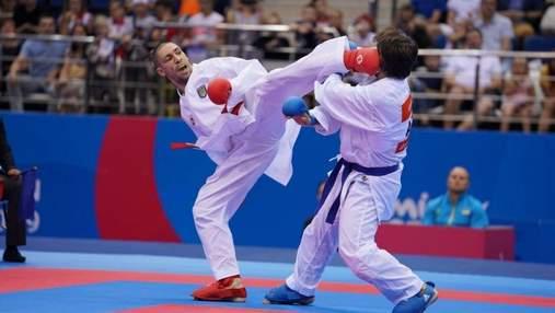 Станислав Горуна стал чемпионом Европы по каратэ