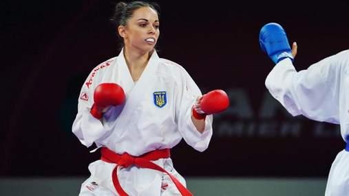Украинка Екатерина Кривая – бронзовый призер чемпионата Европы по карате