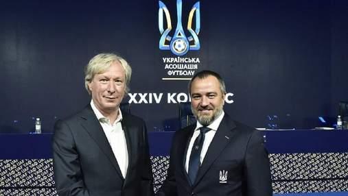 Официально: Михайличенко получил должность первого вице-президента УАФ