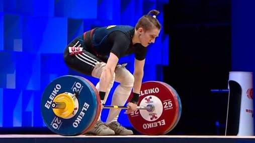 Украинка Камила Конотоп с рекордом стала чемпионкой мира в тяжелой атлетике