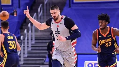 Вашингтон с Ленем проиграл Филадельфии второй матч плей-офф НБА: видео