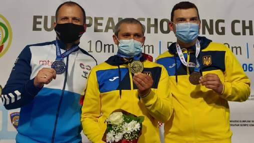 Олег Омельчук – чемпіон Європи зі стрільби, Віктор Банькін – бронзовий призер