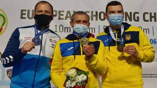 Олег Омельчук – чемпион Европы по стрельбе, Виктор Банькин – бронзовый призер