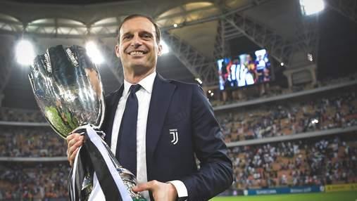 Аллегри снова возглавил Ювентус, он два года был без работы после увольнения из клуба