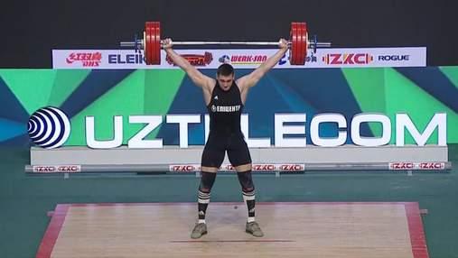 19-летний украинец Богдан Гоза установил новый мировой рекорд в тяжелой атлетике: видео
