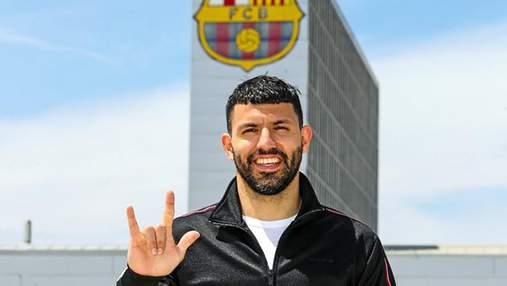 Серхио Агуэро стал игроком Барселоны