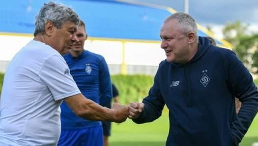 Динамо продовжило контракт із Луческу