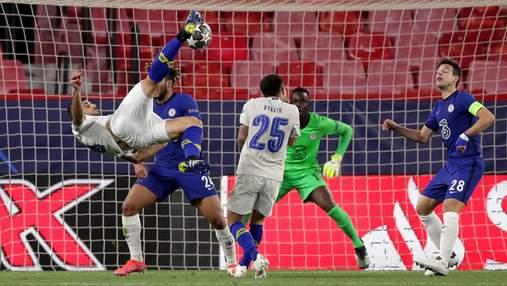 Лучший гол в Лиге чемпионов – удар Тареми в падении через себя в ворота Челси: видео