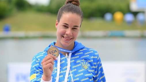 Лузан першою в історії України виграла 4 медалі чемпіонату Європи з веслування