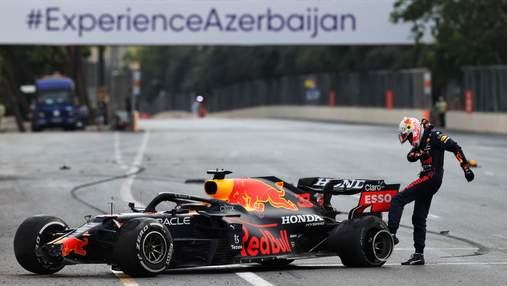 Перес виграв гран-прі Азербайджану, Феттель фінішував другим, Хемілтон допустив фатальну помилку