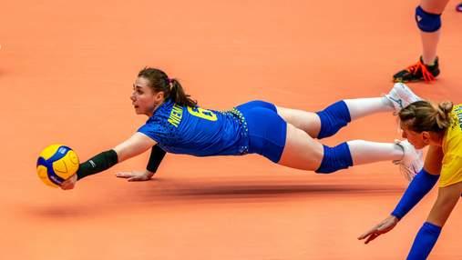Украинские волейболистки уступили Словакии в решающем матче Золотой Евролиги