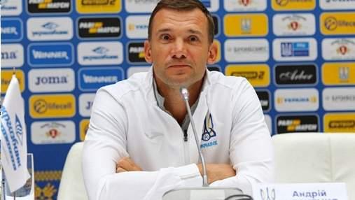 Шевченко будет экспериментировать с составом в матче Украина  – Кипр