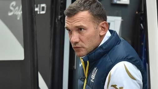 Шевченко впервые прокомментировал реакцию России относительно формы сборной Украины
