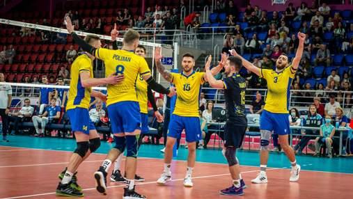 Сборная Украины по волейболу получила соперников в финале четырех Золотой Евролиги