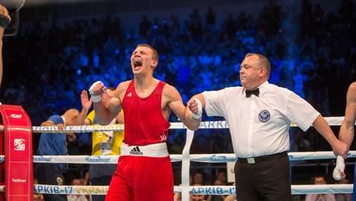 Український боксер Хижняк феєрично переміг росіянина і виграв олімпійську кваліфікацію