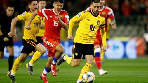 Чи продовжить Бельгія громити Росію: прогноз на матч Євро-2020