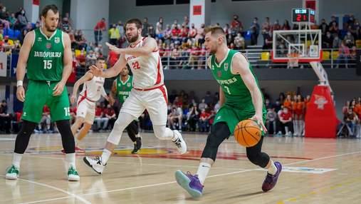 Прометей в третий раз обыграл Запорожье и стал чемпионом Украины по баскетболу