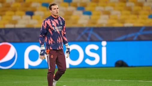 Анчелотті погодився відпустити Луніна з Реала: вже є перший варіант