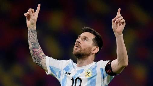 Месси забил идеальный гол со штрафного в матче с Чили, Аргентина не смогла победить: видео