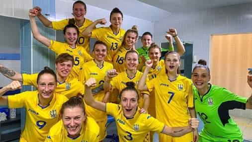 Женская сборная Украины по футзалу на характере разбила Польшу: видео