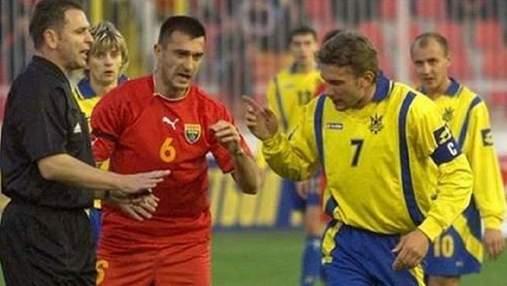 Выбили два зуба: Шевченко может отомстить на Евро-2020 за наглый поступок македонцев в 2004 году