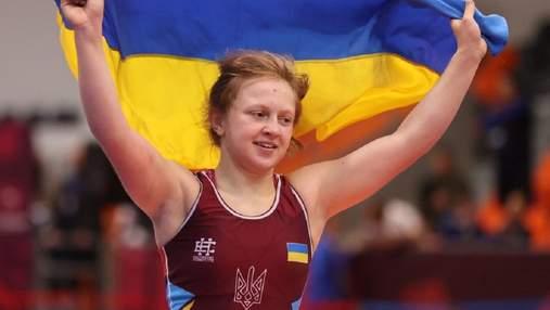 Украинки собрали весь комплект наград на чемпионате Европы по борьбе