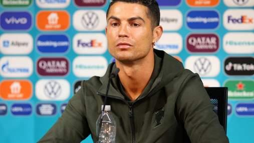 Флешмоб завершен: УЕФА запретила футболистам убирать бутылки спонсоров