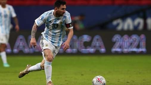 Месси сделал игру: Аргентина получила скромную победу над Уругваем на Кубке Америки – видео