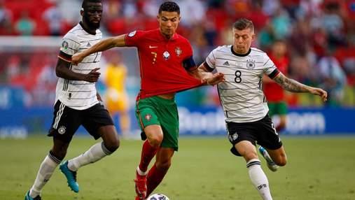 Пас пяткой не глядя: Роналду создал лучший момент дня на Евро-2020 – видео