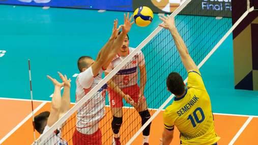 Украина потерпела досадное поражение в финале волейбольной Золотой Евролиги