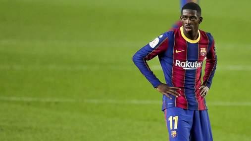 Барселона отримає щедру компенсацію від ФІФА через травму Дембеле