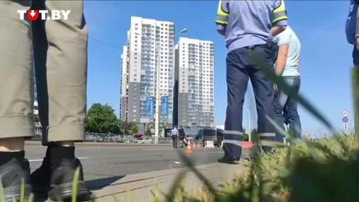 У Білорусі міліція затримувала спортсменів прямо під час змагань на вулицях Мінська: відео