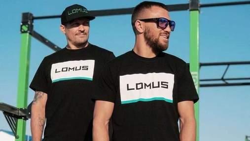 Ломаченко і Усик зробили подарунок скандальному реперу з Росії: фото