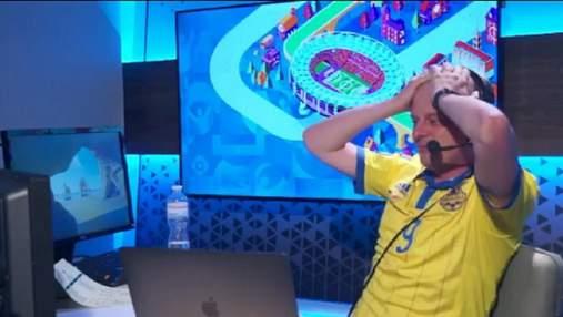 Коментатор Вацко ледь не зірвав голос після голу Довбика у ворота Швеції: емоційне відео
