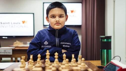 12-летний Абхиманью Мишра стал самым молодым гроссмейстером в истории шахмат