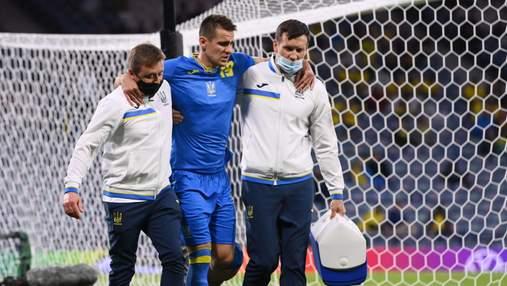 """""""Це не шахи"""": травмований Бєсєдін пробачив футболіста Швеції після моторошного фолу"""