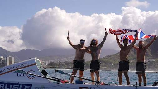 Із Сан-Франциско до Гаваїв: веслувальники пропливли океаном 4 тисячі кілометрів за рекордний час