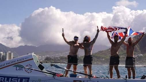 Из Сан-Франциско на Гавайи: гребцы проплыли океаном 4 тысячи километров за рекордное время