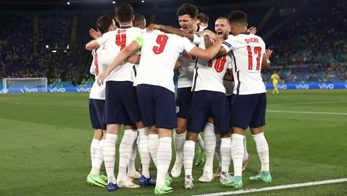 Англия в матче с Украиной установила новый рекорд чемпионатов Европы