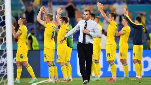 Горжусь выступлением команды, – Шевченко об историческом Евро-2020 для Украины
