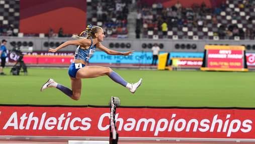 Украинка Рыжикова установила рекорд Украины в беге на 400 метров с барьерами
