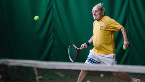 Лучший теннисист в мире: 97-летний харьковчанин попал в Книгу рекордов Гиннеса