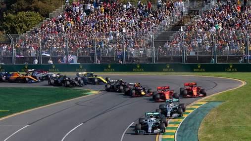 Формула-1 отменила гран-при Австралии в 2021 году