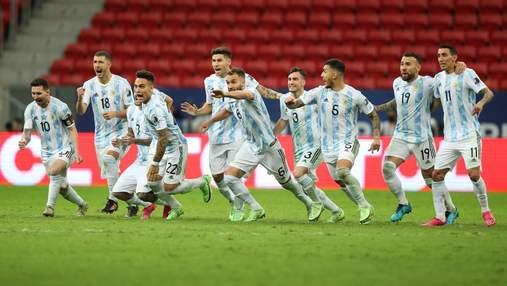 Аргентина вийшла у фінал Копа Америка: голкіпер відбив три пенальті від Колумбії – відео