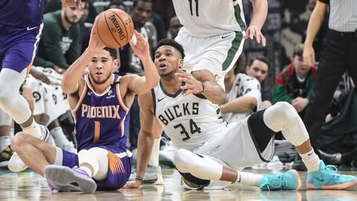 Финикс обыграли Милуоки в первом матче Финала НБА: видео