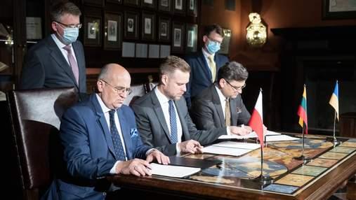 """""""Люблинский треугольник"""" может создавать карту интеграции Украины в НАТО и ЕС, – Кубилюс"""