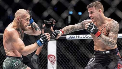 Конор МакГрегор – Дастін Пор'є: стали відомі гонорари бійців на UFC 264