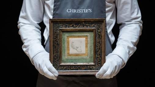 Более 12 000 000 долларов: рисунок Леонардо да Винчи продали на аукционе за рекордную сумму