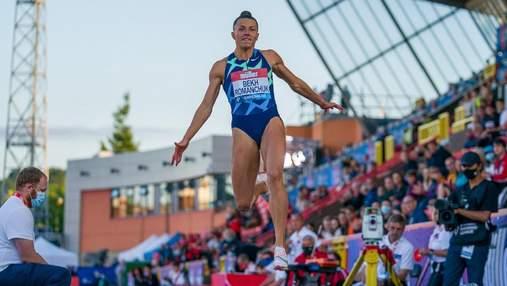 Конкурентка за бортом: як Бех-Романчук розірвала Діамантову лігу перед Олімпіадою – відео